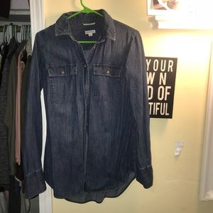 Merona denim shirt